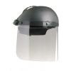 North gelaatsscherm (Perfo B) blanke ruit opklapbaar grijs/transparant