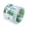 Aluminium kamlok type A met bi.dr. 1.1/4
