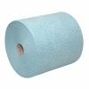 Poetspapier blauw 32cm x 190mtr (rol = 500 doeken à 32 x 38cm)(P62060)