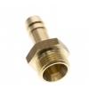 Messing slangpilaar 9mm x 3/8
