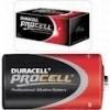 Duracell procell LR20 D staafbatterij 1,5V industrieuitvoering (prijs per stuk)