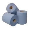 Poetspapier 1lgs 20cm x 300m blauw (prijs per pak à 6rl)