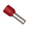 Geisoleerde adereindhulsjes enkel 1x 1,00mm rood (à 100st)