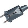 Contactstop 230V rubber + RA