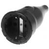 Koppelcontactstop 230V rubber+RA