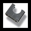 Solar polfix + PVC grijs 19mm buisklem
