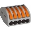 Wago 222-415 universele verbindingsklem 5-voud, 0,8-4mm² voor soepele kabel