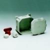 Attema WD2 2300 kabeldoos 88 x 88 x 45mm 7 x invoer IP56 vzv. 3 x doorsteek wartels