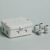 Attema AK2-IP65 kabeldoos 120 x 95 x 55mm met 8 x M20 aansluiting en vzv. 3 x M20 wartels