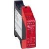 Telemecanique XPSAC5121 veiligheidsmodule tbv. bewaking noodstoppen+standschak. 24VAC/DC 3M+1V