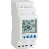 Digitale electrische schakelklok met weekprogrammering 1-kanaal 230VAC/16A