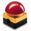 Eaton FAK-R/V/KC11/IY paddestoeldrukknop rood/geel trek-ontgrendeling