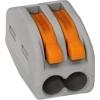 Wago 222-412 universele verbindingsklem 2-voud, 0,8-4mm² voor soepele kabel