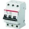 ABB S203-K16 installatieautomaat 3-polig K-kar. 16A