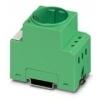 Phoenix wandcontactdoos opbouw Din rail montage 230 V AC 2-polig + randaarde