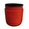 PP touw oranje 4mm (volle rol à 200 mtr)