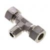 Hydrauliek RVS 316 snijring D2353, T-koppeling 1/2