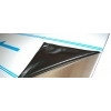 RVS 304 plaat 2000 x 1000 x 3,00mm gefolied