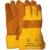 Cold Worker 1.47.040.00 winterhandschoen rundspitleder met gele kap, maat 10