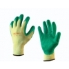 Glovmech 350 stratenmaker handschoen groen-geel maat 10 (XL)