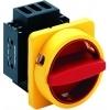Salz H220-41400-033N4 hoofdschakelaar rood/geel 4-polig