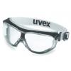 Uvex carbonvision veiligheidsbril zwart/grijs met witte hoofdband