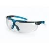 Uvex I-3 Supravision NCH veiligheidsbril blauw/zwart UV blanke ruit