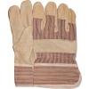 Worker handschoen varkensnerflederen gestreept, maat 10