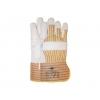 Worker 1.11.305.12 handschoen meubelleder vzv. canvas en palm versterking ongevoerd maat 12