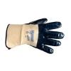 Ansell Hycron 27-607 handschoen blauw/wit maat 10