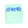 Salvequick 6735 detecteerbare blauwe pleisters (21 stuks 72 x 19mm en 14 stuks 72 x 25mm)