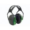 3M Peltor X1A gehoorkap groen met standaard hoofdband (SNR 27 dB)