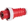 Bals 2185 contactstop 63A 4-polig 400V IP67 wurgwartel (male)