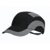 Stootpet hardcap A1 baseballcap korte klep zwart-antraciet