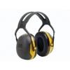 3M Peltor X2A gehoorkap geel met standaard hoofdband (SNR 31 dB)