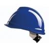 MSA veiligheidshelm V-Gard met draaiknop (blauw)