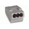 Wago verbindingsklem 3-voudig 4mm²