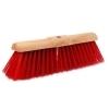 Gemeentebezem PVC 45cm (rood)