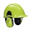 Peltor G3000D Hi-Viz veiligheidshelm fluoriserend geel
