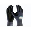 ATG MaxiCut Ultra 44-3745 handschoen grijs/zwart met snijvaste vezel klasse 5 maat 10