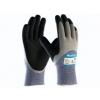 ATG MaxiCut Oil Grip 34-505 handschoen grijs/zwart met snijvaste vezel klasse 5 maat 9