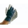 Tropic handschoen nappaleder blauw/wit maat 10