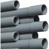 PVC drukbuis 160 x 9,5mm lijmmof x glad 16bar L=5mtr