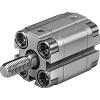Festo 156985 enkelwerkende compacte cilinder AEVU-16-25-A-P-A