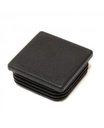 Inslagdop rond 25 x 1,0/3,0 zwart PE