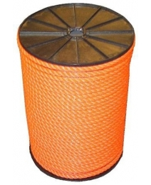 PP touw oranje 6mm (volle rol à 100mtr)