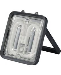 Werklamp 230V 38W 5m 3 x 1,5mm aan achterkant voorzien van WCD